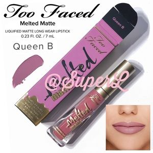 2/$25 TOO FACED Melted Matte Liquified Lipstick